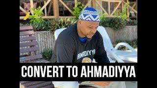African American Accepts Islam Ahmadiyya