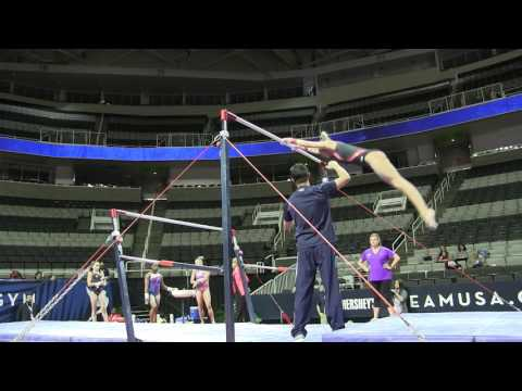 Judges Eye Ashton Locklear Uneven Bars 2017 Doovi