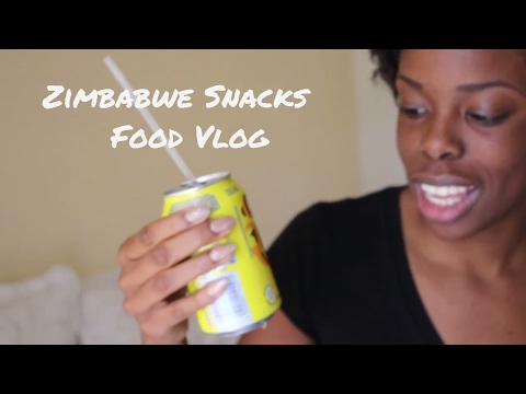 Zimbabwe Snacks - Travel Food Vlog