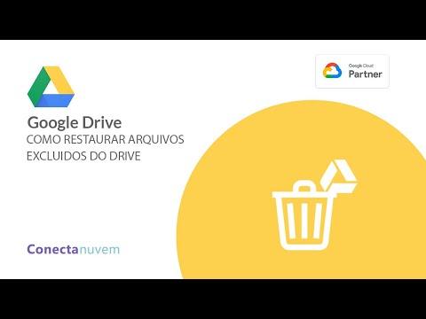 Como restaurar arquivos excluídos do Google Drive
