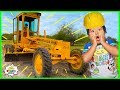 Download lagu Ryan learns about Construction Vehicle Road Grader from Builder John!!!