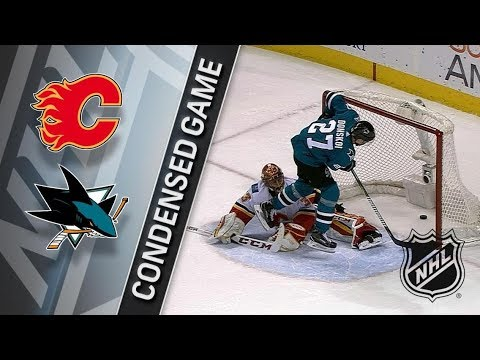 Calgary Flames vs San Jose Sharks – Dec. 28, 2017 | Game Highlights | NHL 2017/18. Обзор матча