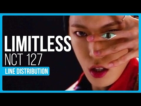 NCT 127 - Limitless Line Distribution (Color Coded)