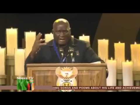 KENNETH KAUNDA SPEECH AT NELSON MANDELA'S FUNERAL FULL