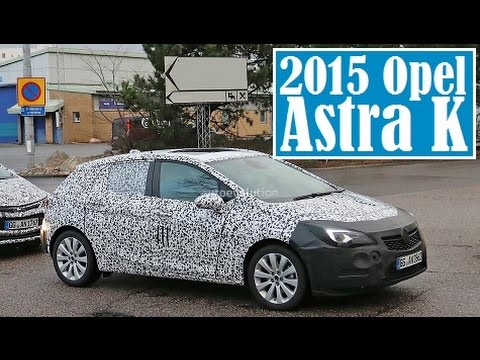 2015 opel astra k spied and slated to enter production later in 2015 youtube. Black Bedroom Furniture Sets. Home Design Ideas