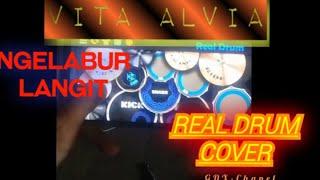 Vita Alvia Ngelabur Langit~Real Drum Cover