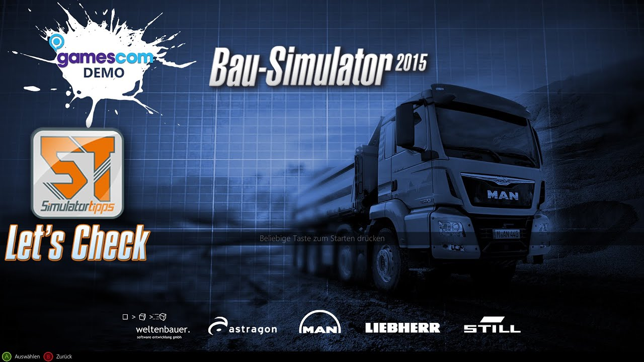 baumaschinen simulator demo
