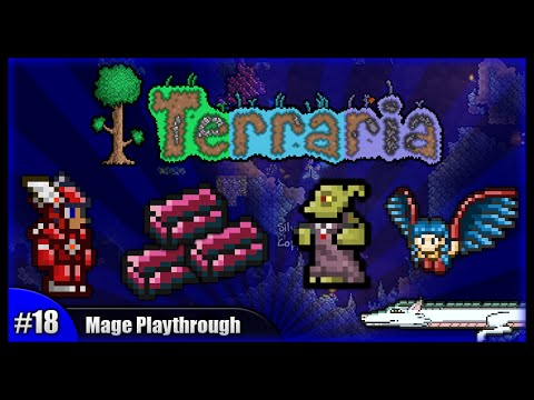 Let's Play Terraria 1.2.4 || Mage Class Playthrough || Adamantite & Unexpected Awesome! [Episode 18]