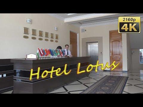 Hotel Lotus in Dushanbe - Tajikistan 4K Travel Channel