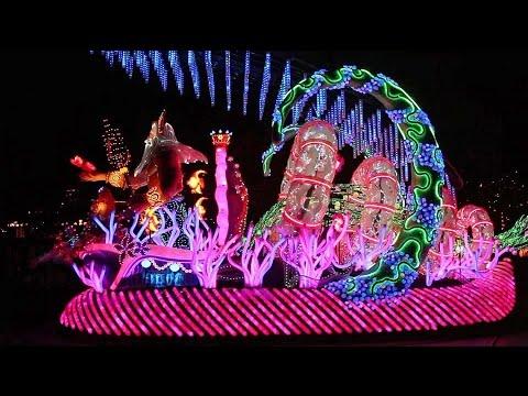 Paint The Night Parade - Disneyland Resort - Central Plaza