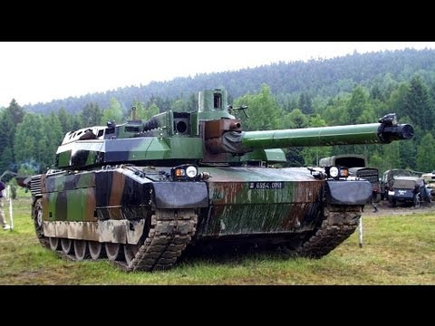 ★ CHALLENGER 2 Vs LECLERC ★ BATTLE TANKS 2013