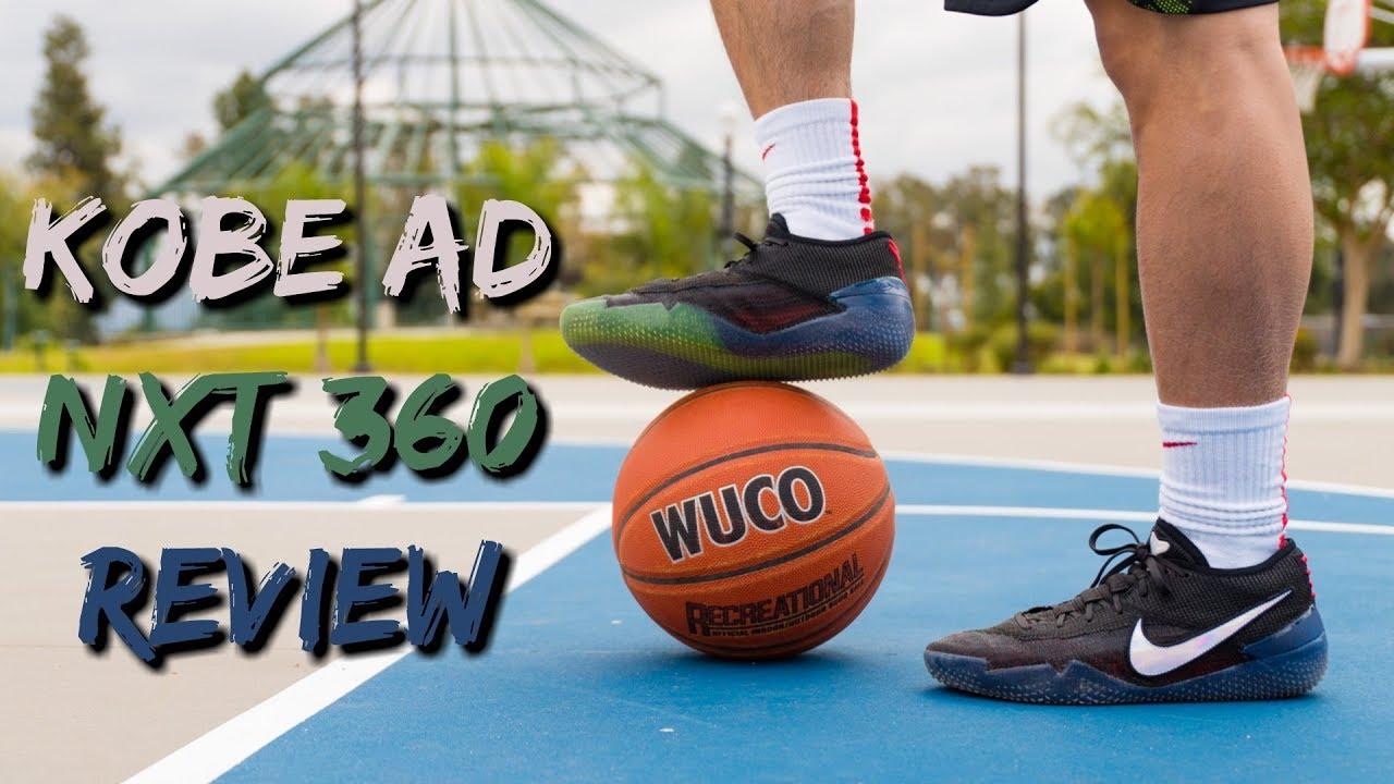 5f30f5988e46 Nike Kobe AD NXT 360 Performance Review! - YouTube