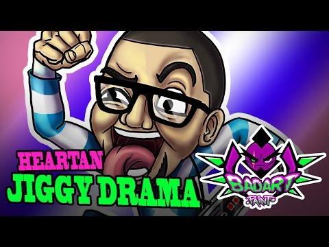 Ver Video de Jiggy Drama JIGGY DRAMA (Heartan) Speed Paint #BadArtPaint