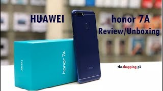 Huawei Honor 7A Review | Urdu / Hindi