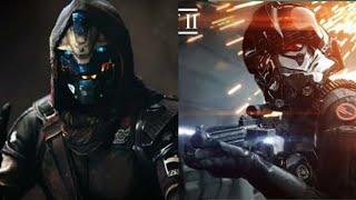 Battlefront 2 vs Destiny 2 Graphic gameplay comparison