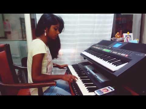 Jai Ho 😍 A R Rahman musical played by Ruchi on keyboard..😄