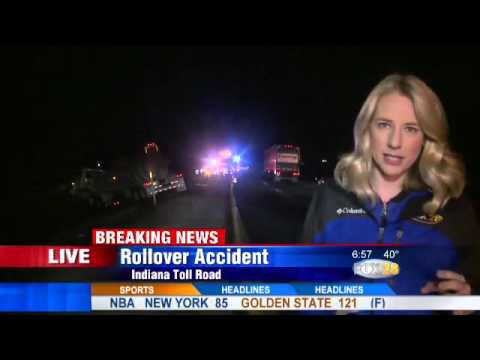 Live Breaking News Coverage: Indiana Toll Road Crash