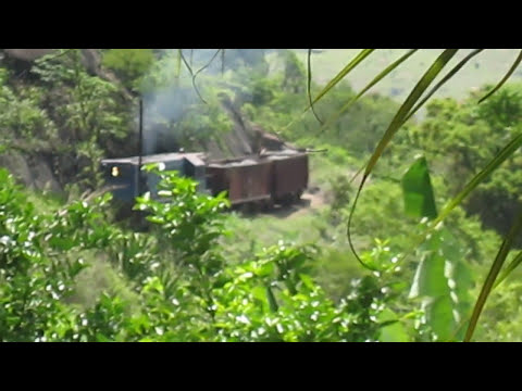 Locomotiva G 8 em Soturno ES ( Video Virgilio Vitali )
