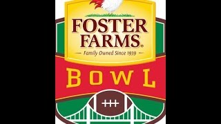 Foster Farms Bowl Prediction / Utah Utes - Indiana Hoosiers