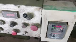 3호밀링 범용밀링  dc모터가 고장나서 인버터로 개조된…