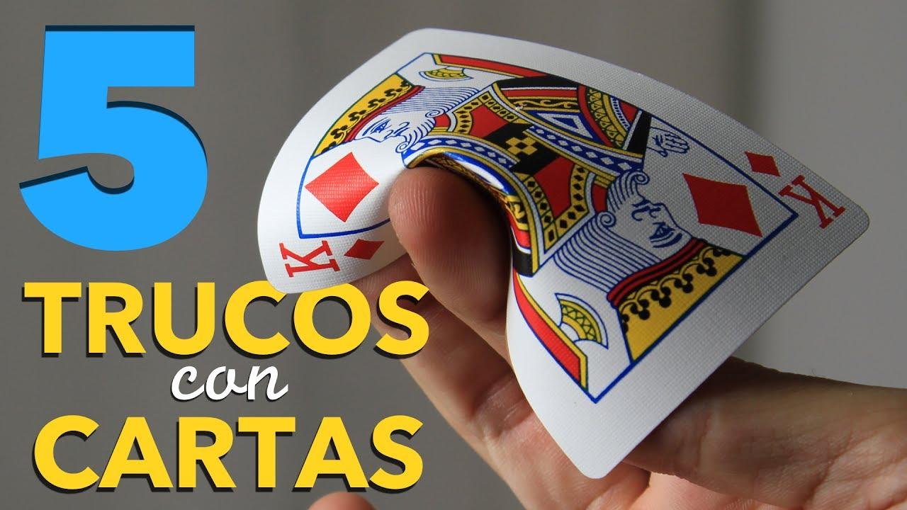 5 Trucos De Magia Con Cartas Fáciles De Hacer Para Lanzar Cartas Como Un Pro Youtube