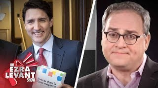 """Ezra Levant: Trudeau's media bail-out includes a """"BAN The Rebel clause"""""""