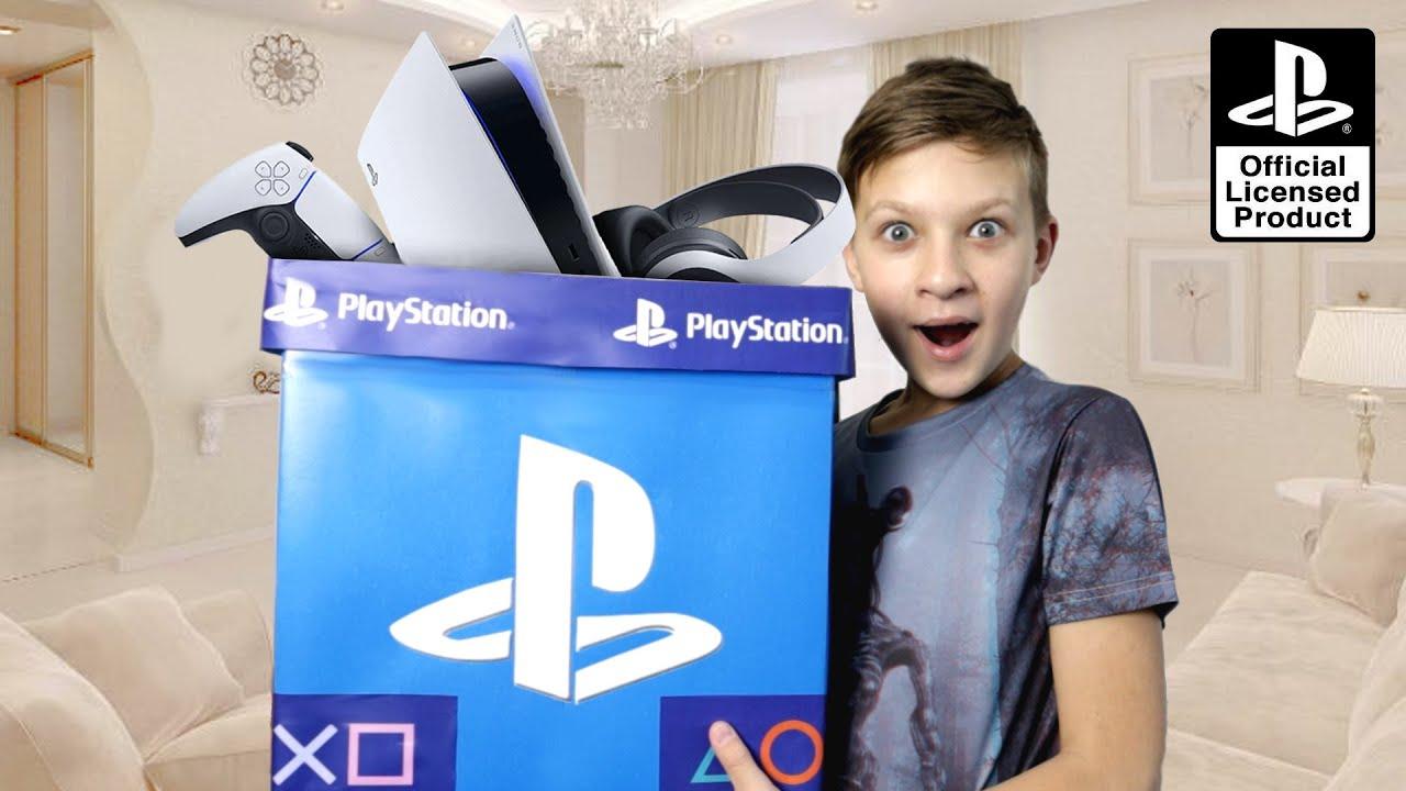 ЭКСКЛЮЗИВ! PlayStation BOX для Тимы за окончание школы! Неужели и тут Поп Ит?