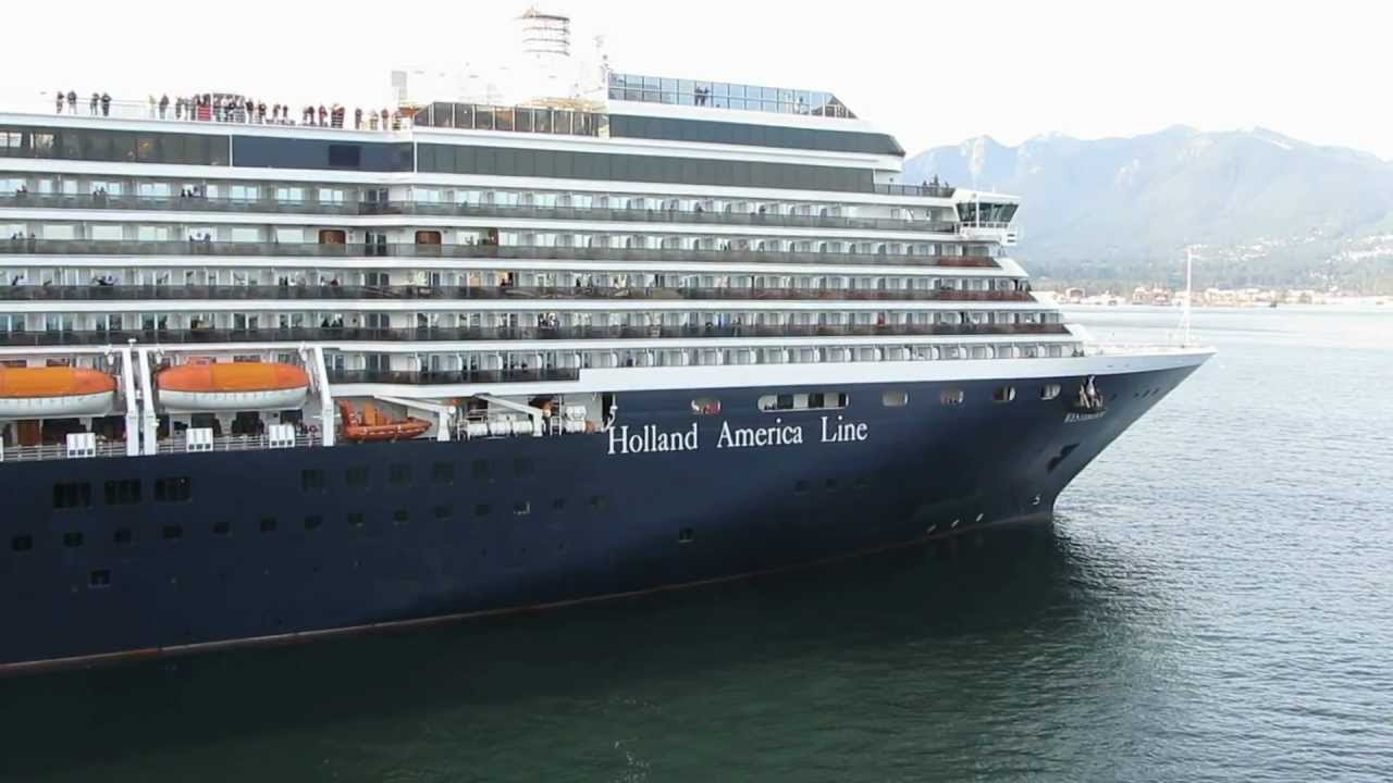 Cruise Ship Westerdam In Vancouver Bc September 30