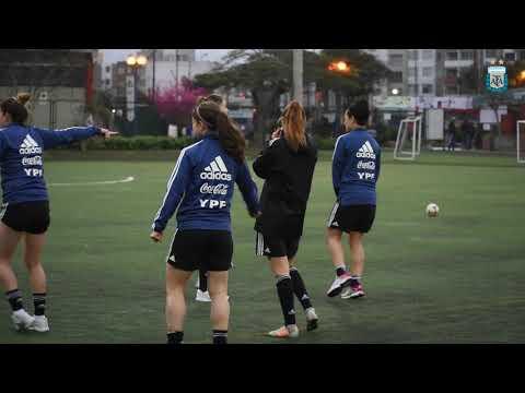 #FútbolFemenino: Entrenamiento de la Selección en Lima