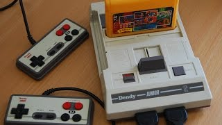 Обзор ТВ приставки Денди: Забытая 'Новая Реальность' (Dendy, Nes, Игры 8 Bit)