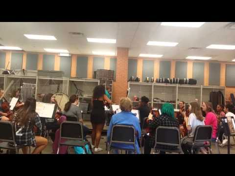 Playing a joke on our orchestra teacher!