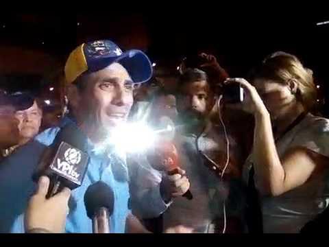 """Henrique Capriles Radonski: """"En lugar de comida, China envía a Vzla. tanquetas para reprimir"""""""
