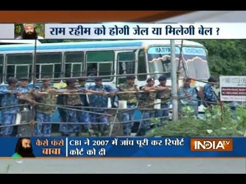 Glimpses of Panchkula ahead of Ram Rahim's arrival