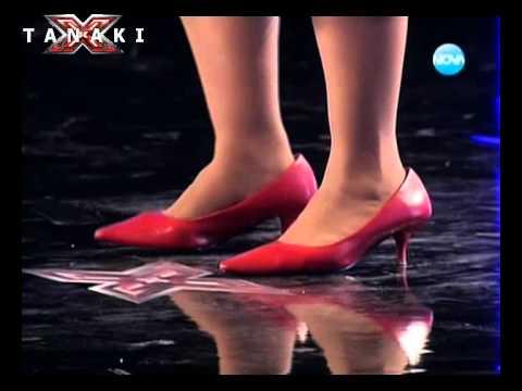 Hовата Валентина Хасан , смях - X Factor България 14.09.11