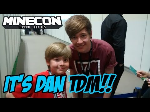 Thumbnail: Ethan meets DanTDM at Minecon 2015!!! It's EPIC!!!!