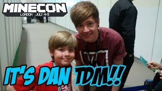 Ethan meets DanTDM at Minecon 2015!!! It