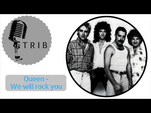 We will rock you by Queen (Instrumental Version) KARAOKE