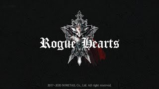 Official Rogue Hearts (by NINETAIL Co., Ltd) Launch Trailer (iOS/Android)