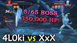 Alliance War: 4L0ki -vs- XxX | Season 2, War 17 | Marvel Contest of Champions