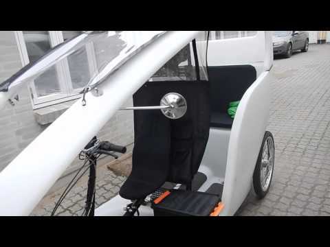 Green Shuttle Electric Bike Taxi
