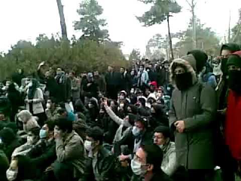 Iran Tehran Uni 8 Dec 09 (17 Azar) Protest P20