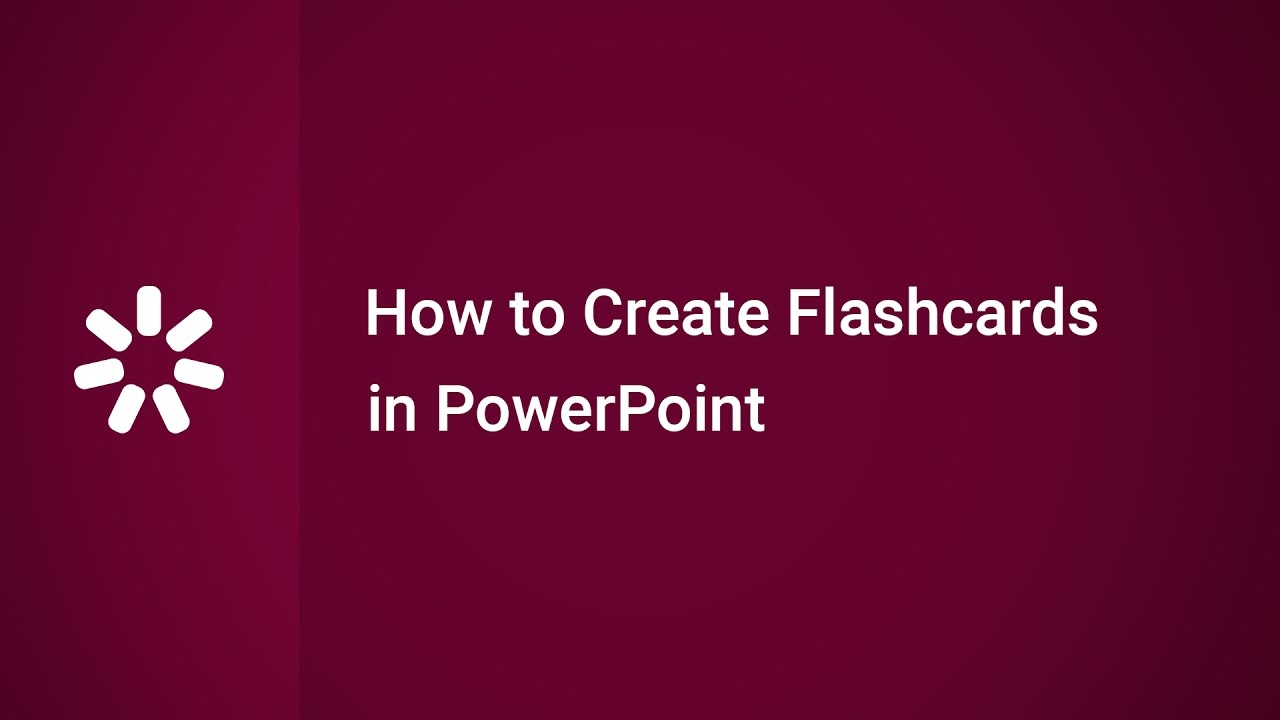 How to create flashcards in powerpoint youtube how to create flashcards in powerpoint toneelgroepblik Choice Image