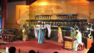 Chengdu dancing and music in drum bell tower