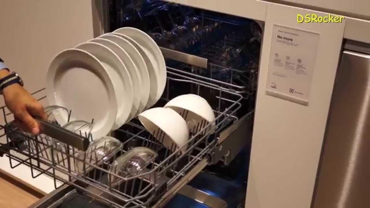 Electrolux fortLift Dishwasher IFA Berlin 2014