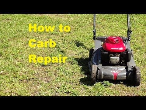 Honda HRX 217 Carb Repair