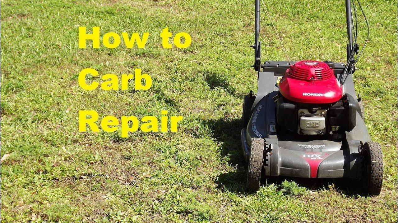 Honda Hrx 217 Carb Repair Funnycat Tv