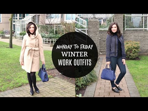 MONDAY TO FRIDAY WINTER WORK OUTFITS