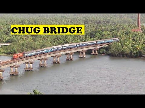 WDG3A Ernakulam Pune Sharavathi River Bridge