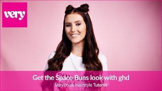 How To Create Space Buns Look with ghd   Very Beauty