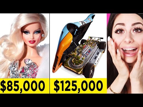 MOST EXPENSIVE TOYS You Wont Believe Exist